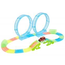 Action Track Car In Loop
