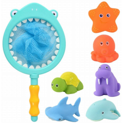 Bath Squirter Fishing Set