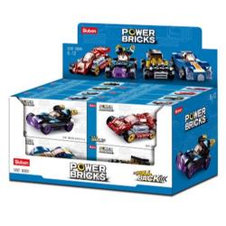 Pull Back Series: Power Bricks - Assorted