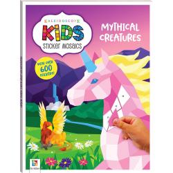 Kids Sticker Mosaics: Mythical Creatures
