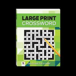 Large Print Crossword (GREEN)