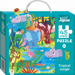 Junior Jigsaw: Tropical Jungle