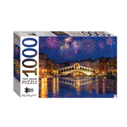 Mindbogglers 1000 Piece: Rialto Bridge, Venice