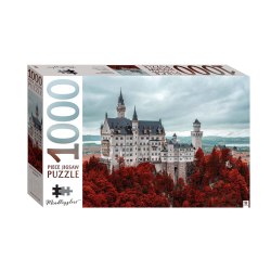 Mindbogglers 1000 Piece: Neuschwanstein Castle, Germany