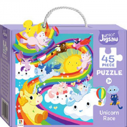 Junior Jigsaw: Unicorn Race