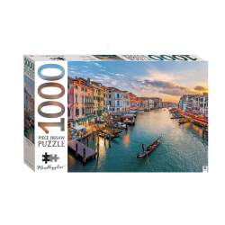 Mindbogglers 1000 Piece: Grand Canal At Dusk, Italy