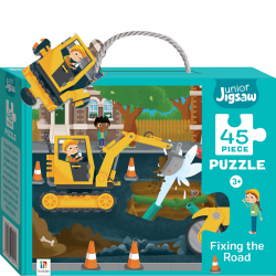 Junior Jigsaw: Fixing The Road