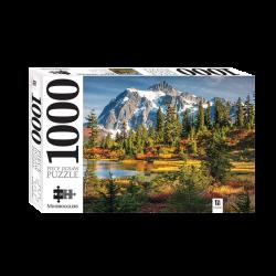 Mindbogglers 1000 Piece: Mount Shuksan And Picture Lake, Usa
