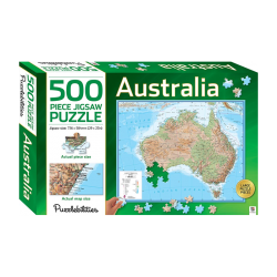Australia - 500 Pieces Jigsaw Puzzle