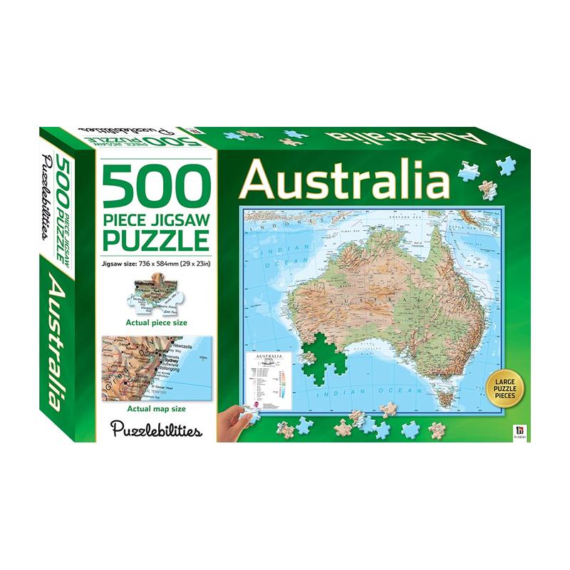 Australia - 500 Pieces Jigsaw Puzzle