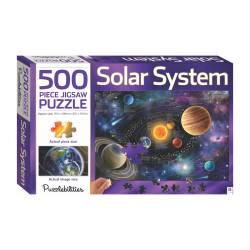 Solar Systems - 500 Pieces Jigsaw Puzzle