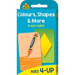 Colours, Shapes & More (Ages 4-UP)