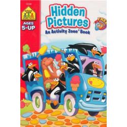 Hidden Pictures Activity Zone Book