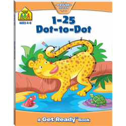 1-25 Dot-To-Dot (Ages 4-6)