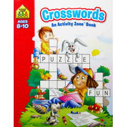Crosswords Activity Zone Book (Ages 8-10)