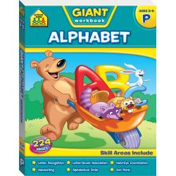 Giant Workbooks Alphabet
