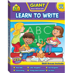 Giant Learn To Write Workbook
