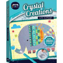 Crystal Creations Canvas: Cute Elephant